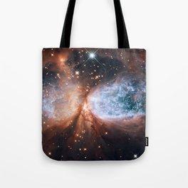 Star-forming region S106 Tote Bag