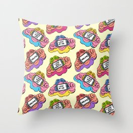 SELFIE GIRLS Throw Pillow