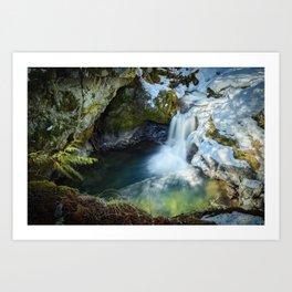 Paradise Falls 1 Art Print