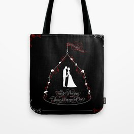 The finest of pleasures are always the unexpected ones. The Night Circus Tote Bag