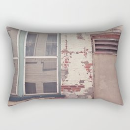 Brick Decay Rectangular Pillow
