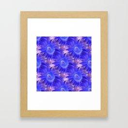 That purple feeling... Framed Art Print