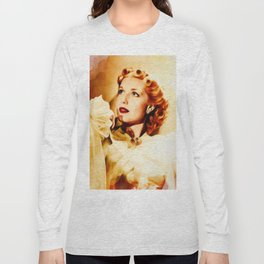 Anita Louise, Vintage Actress Long Sleeve T-shirt