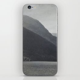 In the Shadows of Mountains iPhone Skin