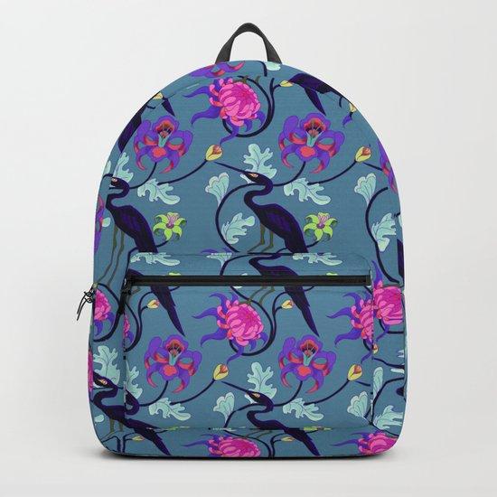 Shadow Heron Backpack