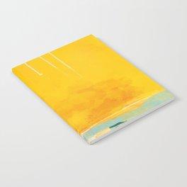 sunny landscape Notebook