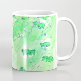 Watercolor Tardigrade Illustration Coffee Mug