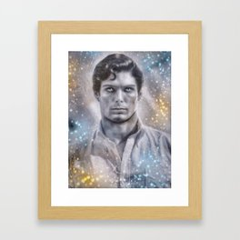 Christopher Reeve Framed Art Print