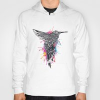 hummingbird Hoodies featuring HummingBird by efan