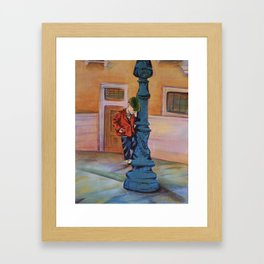 Singing in the rain, the early years Framed Art Print