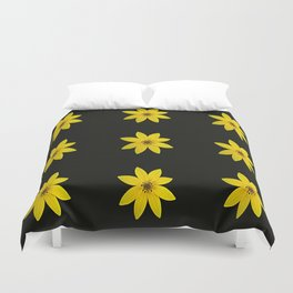 Coreopsis II Duvet Cover