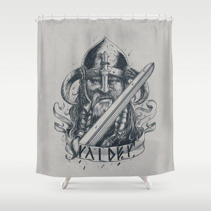 Raider Viking Shower Curtain