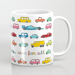 Cars for all Coffee Mug