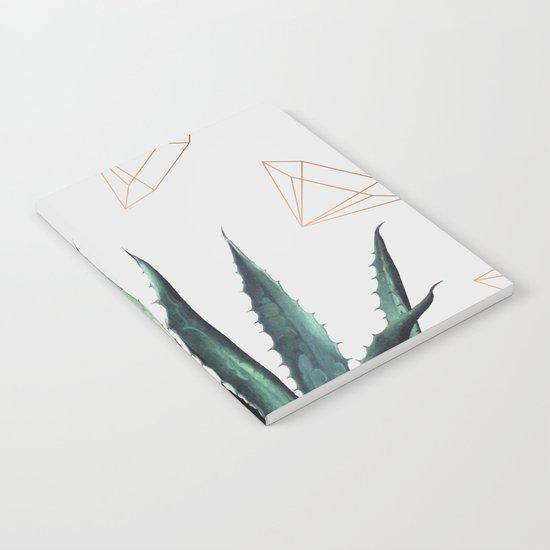 Agave Geometry #society6 #decor #buyart Notebook