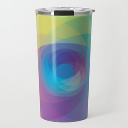 Spiral Rose Travel Mug