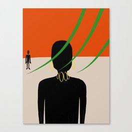 Look ... Canvas Print