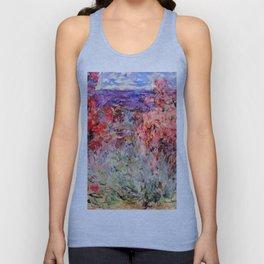"Claude Monet ""Flowering Trees near the Coast"", 1926 Unisex Tank Top"