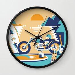 Wild Ride Wall Clock