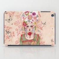 marie antoinette iPad Cases featuring Marie-Antoinette by Minasmoke