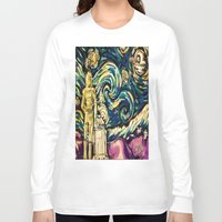 starwars Long Sleeve T-shirts featuring StarWars Night by Fknjedi1