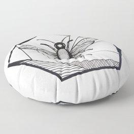 Honeycomb Floor Pillow