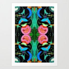 六 (Liù) Art Print