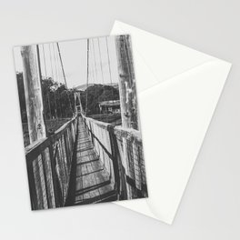 Black and White Bridge - Kauai, Hawaii Stationery Cards