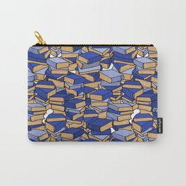 Book Collection in Blue Carry-All Pouch