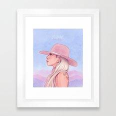 Joanne Framed Art Print