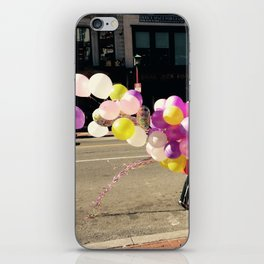 Ballons on U Street iPhone Skin