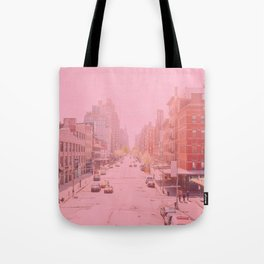 Rose Colored Village  Tote Bag
