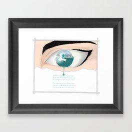 Espera Framed Art Print
