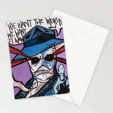 Agent RAINS Stationery Cards