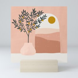 lemon tree Mini Art Print