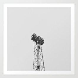 Stadium Lights Art Print