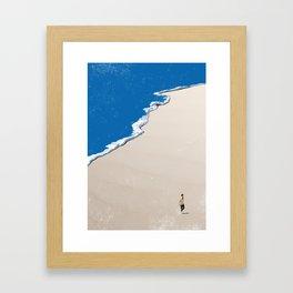 Beach 8 Framed Art Print