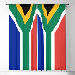 Flag of South Africa Blackout Curtain