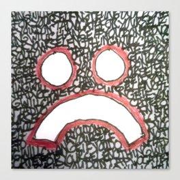 Blockhead # 4 - AKA Advocate For Yourself Canvas Print