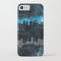 paper towns iPhone & iPod Cases featuring Cityscape Galaxy Paper Towns John Green Inspired  by denise