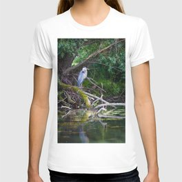 Heron under the tree T-shirt