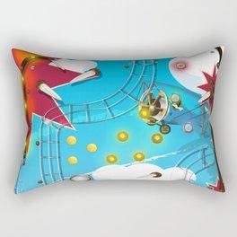 Pinball Machine arcade game Rectangular Pillow