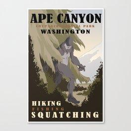 CPS: Ape Canyon, WA Canvas Print