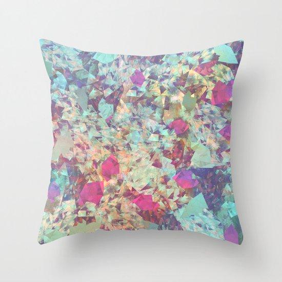 Spaced Geometric Throw Pillow