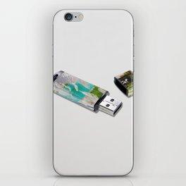 Refresh, Mint USB iPhone Skin