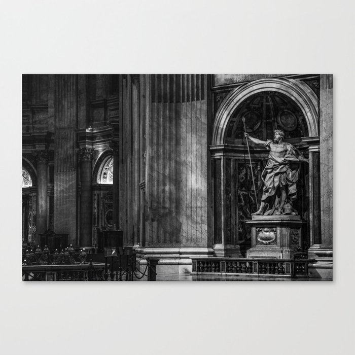 Inside The Vatican Canvas Print