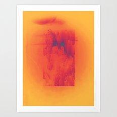 Body Heat Art Print