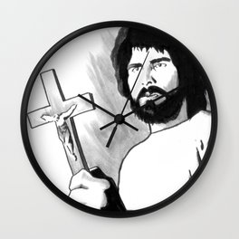 Bless This House And All Who Enter Here  Wall Clock
