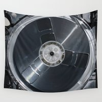tape Wall Tapestries featuring LOAD TAPE by Maioriz Home