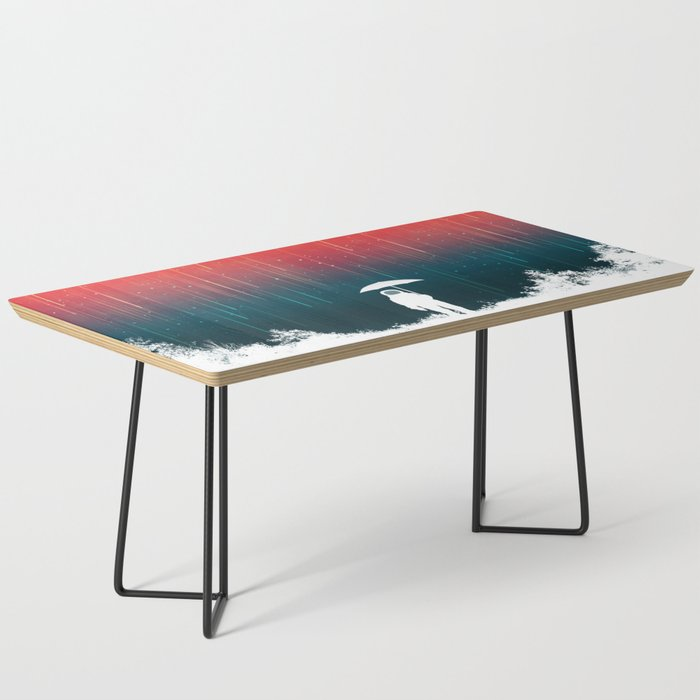 Meteoric rainfall Coffee Table