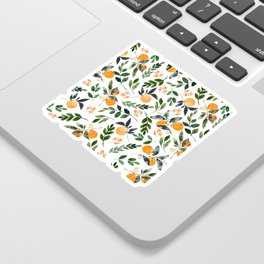 Orange Grove Sticker